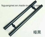 Пробка ручки двери нержавеющей стали 304 с средней ручкой тяги сатинировки (GM-804)
