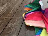 Напольные водоустойчивые деревянные пластичные синтетические доски Decking