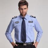 Personnaliser la tenue de sécurité des hommes Robe uniforme / Chemise de sécurité à bas prix / Design blanc Protection de sécurité