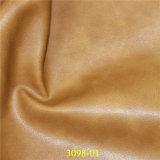 のどソファーのシートカバーのための物質的なPUの家具の革