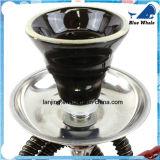 Cachimba de cristal del árabe del tubo que fuma del tazón de fuente del cráneo