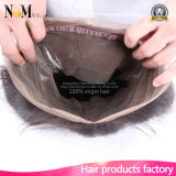 Le vison de cheveu de Facebeauty a pré plumé la bande de 360 frontaux avec le cheveu droit d'Aliexpress R-U de cheveu indien de Vierge des affaires 7A Remy de paquets