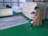 Pavimentazione di legno laccata UV della plancia larga grigia della quercia del Matt