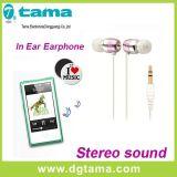 Oortelefoon 3.5mm de StereoOortelefoon Earbuds van het in-oor zonder Mic