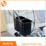 Шкаф тарелки нержавеющей стали крома 2 ярусов для изделий кухни
