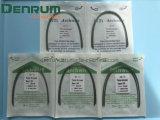 Collegare termicamente attivato ortodontico dell'arco di Niti di calore del materiale di consumo di Denrum
