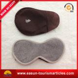 Mascherina di sonno del raso con i Eyeshades stampati di marchio per la linea aerea