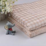 Gots certificó la materia textil orgánica orgánica de la tela de algodón para la ropa del bebé