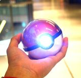 12000mAh Chager com escudo de cristal claro Pokemon do diodo emissor de luz vão banco da potência em terceiro lugar