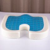 Ammortizzatore di raffreddamento della sede della gomma piuma di memoria del gel, Tailbone e rilievo di dolore della sciatica, coperchio lavabile