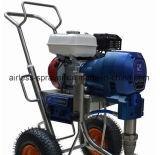 Pulverizador de pintura sin aire de motor de gasolina con 8.3L