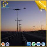 Zwei Lampen-angeschaltene Straßen-Solarsolarlichter