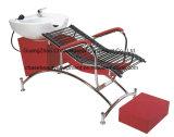 خاصّة رخيصة أحمر شامبوان كرسي تثبيت & سرير وحدة صالون تجهيز