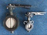 A DK datilografa a válvula de borboleta com o funcionamento do punho/engrenagem (D371X-DK)