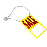 Kundenspezifische Plastikzeichenkette-Fall-Marke für Kleidung (DL57-2)