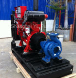 Bomba de água centrífuga horizontal do motor Diesel do baixo fluxo para o produto químico