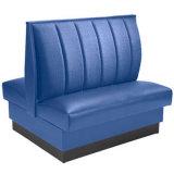 Cabina comercial del restaurante del uso que asienta el sofá de los alimentos de preparación rápida (HD367)