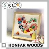 Bâti en bois de cadre ou de photo d'ombre de décoration