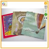 Stampa del libro di colore completo del coperchio molle o del Hardcover su ordinazione per i bambini