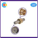 CNC нержавеющей стали & меди подвергая шестиугольную втулку механической обработке/Pin/винт
