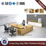 Modèle moderne L bureau en bois de forme (HX-BS801)