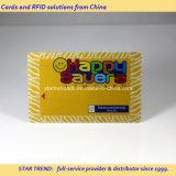 Cartão de tarja magnética de ouro impressão de PVC para VIP Membership
