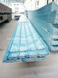 Il tetto ondulato di colore della vetroresina del comitato di FRP/di vetro di fibra riveste W172017 di pannelli