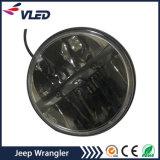 Farol direto do diodo emissor de luz do preço de fábrica do lúmen elevado claro do diodo emissor de luz do carro para o Wrangler do jipe