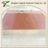 1220 * 2440mm 9ply 15 mm Luz álamo Core melamina de carpintería para la construcción