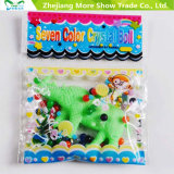 Atacado Crystal Soil Water Beads com brinquedos crescentes Ocean Growing Animals