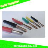 Провод электрического/электрического кабеля меди крышки PVC