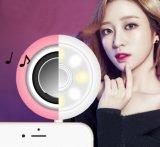 Lumière d'appoint de périphérique audio plus la mini aide de Selfie d'orateur