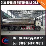 Eau potable de réservoir d'Inox de prix bas de Dongfeng et camion lourds de réservoir à lait