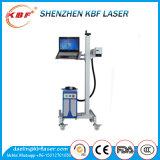 Máquina de la marca del laser de la fibra de la mosca de la alta calidad para los cables y los alambres de la impresión