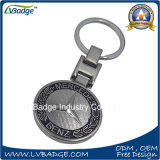 Keyring do logotipo do carro de metal do fabricante