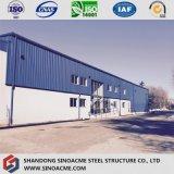 うまく設計された現代構造の倉庫のための鋼鉄構築