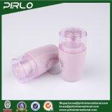 bottiglia di plastica di colore viola 50ml con l'inserto e la protezione per le bottiglie di plastica dell'estetica della bottiglia della lozione del toner cosmetico
