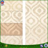 Tela impermeável tecida matéria têxtil do escurecimento do franco da tela de linho do poliéster para a cortina e o sofá do jacquard