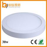 Downlight表面によって取付けられるLEDの軽いパネル円形30W SMD2835 LEDの天井ランプ