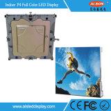 Visualizzazione dell'interno completa dell'affitto LED di colore P4 HD per la fase