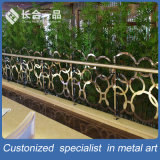 Fábrica de Fabricação Design Especial de aço inoxidável Escadaria Balaustrada Corrimão
