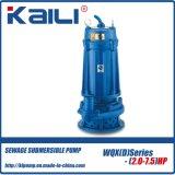 10HP高いヘッドWQX下水の浸水許容の水ポンプ