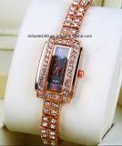 Reloj al por mayor de la joyería de la manera del cuarzo Señora de la Mujer