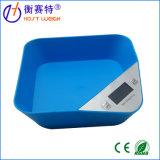 Type neuf échelle électronique 5kg de cuvette de modèle de cuisine de Digitals