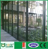 二重ガラスアルミニウムガラス塀