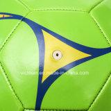 Оптовый зеленый поверхностный шарик футбола PVC Durable