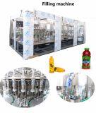 Завершите производственную линию сока питья плодоовощ горячую заполняя обрабатывая для бутылки любимчика