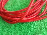 Câbles tissés par tissu micro de câble de cordon de synchro de remplissage et de caractéristiques d'USB