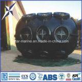 Defensa de goma marina flotante neumática