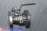 O RUÍDO Pn16-40 2PC flangeou válvula de esfera com a almofada de montagem ISO5211